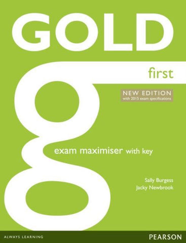 Gold First Maximiser - second edition for 2015 exam book with key + online audio-access
