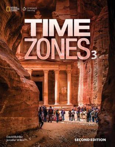 Time Zones - second edition 3 student's book with online workbook