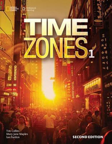 Time Zones - second edition 1 student's book with online workbook