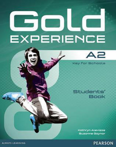 Gold Experience A2 student book + dvd-rom+ online resources