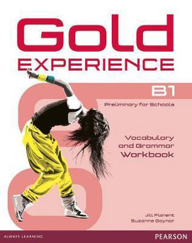 Gold Experience B1 grammar&vocabulary workbook without key