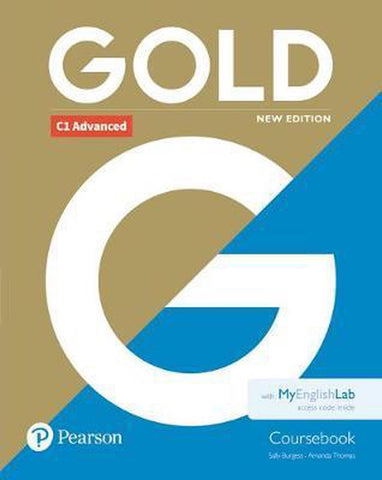 Gold C1 - Advanced new edition Coursebook + MyEnglishLab pack