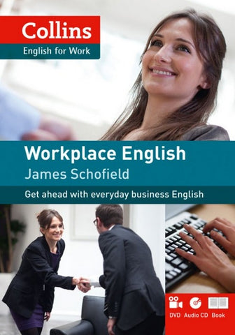 Collins English for Work - Workplace English A1-A2 student's book + DVD + online audio