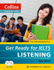 Collins Get Ready for IELTS A2+ - Listening book + audio-cd's (2x)