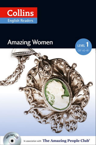 Amazing People Readers 1 (A2): Amazing Women book + audio-cd