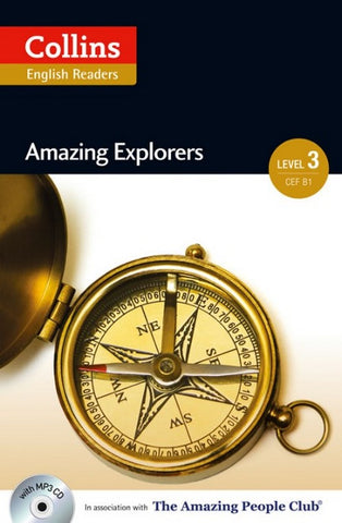 Amazing People Readers 3 (B1): Amazing Explorers book + audio-cd