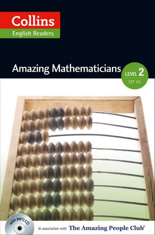 Amazing People Readers 2 (A2-B1): Amazing Mathematicians book + audio-cd