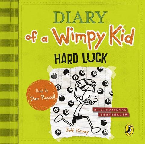 Diary of a Wimpy Kid: Hard Luck 8 audio-cd