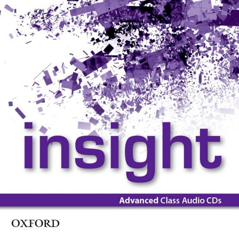 Insight - Advanced Class CDs (3x)