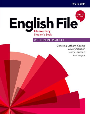 English File - Elementary (fourth edition) Student's Book with Online Practice