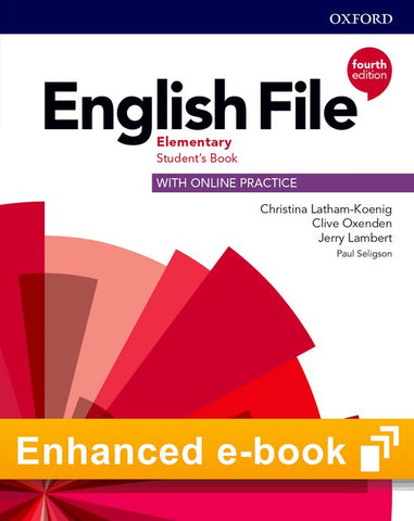 English File - Elementary (fourth edition) Student's Book e-book (olb)