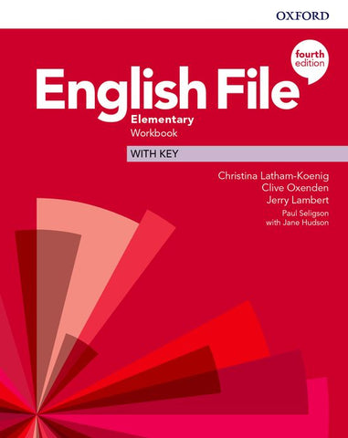 English File - Elementary (fourth edition) Workbook with Key