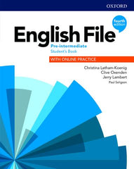 English File - Pre-Intermediate (fourth edition) Student's Book with Online Practice and e-book