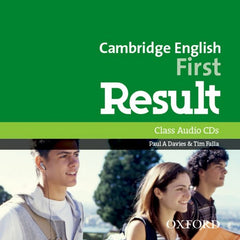 Cambridge English: First Result (for revised 2015 exam) class audio-cd/mp3