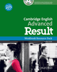 Cambridge English: Advanced Result (for revised 2015 exam) workbook without key + cd-rom pack