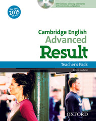 Cambridge English: Advanced Result (for revised 2015 exam teacher's book + dvd pack