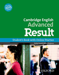 Cambridge English: Advanced Result (for revised 2015 exam) student's book + online skills practice
