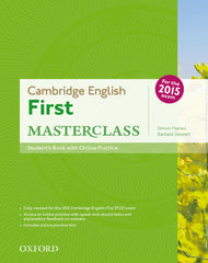 Cambridge English: First Masterclass student's book + online practice pack