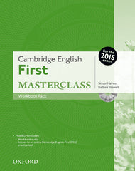 Cambridge English: First Masterclass workbook pack without key