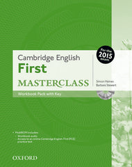 Cambridge English: First Masterclass workbook pack with key
