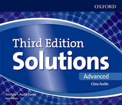 Solutions Third Edition - Advanced Class Audio CD