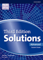 Solutions Third Edition - Advanced Student's Book + Online Practice Pack