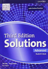 Solutions Third Edition - Advanced (olb) Online Workbook