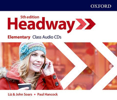 New Headway - Elementary 5th edition Class audio-cd's