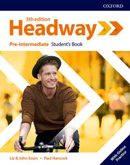 New Headway - Pre-intermediate 5th Edition Student's book + online access pack