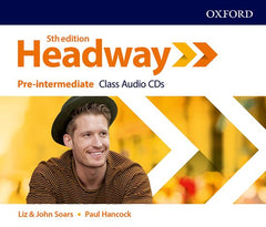 New Headway - Pre-intermediate 5th Edition Class audio-cd's