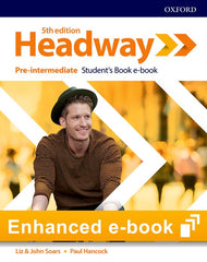 New Headway - Pre-intermediate 5th Edition (olb) Student's book