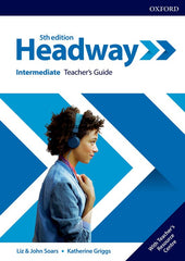 New Headway - Intermediate 5th Edition Teacher's guide+resource center+practic