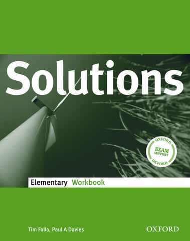 Solutions - Elementary workbook