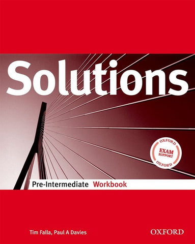 Solutions - Pre-intermediate workbook