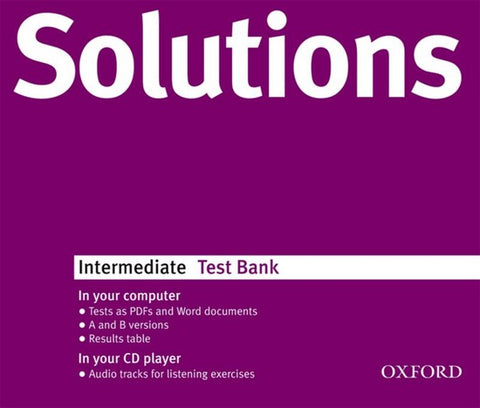 Solutions - Intermediate test bank multi-rom
