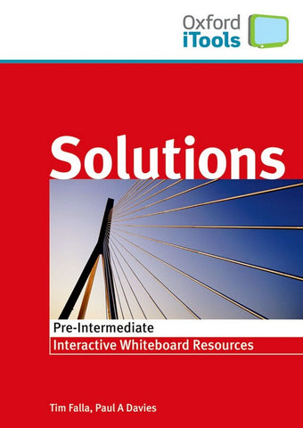 Solutions - Pre-intermediate itools dvd-rom