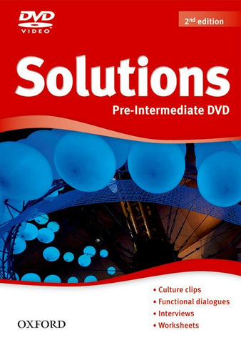 Solutions second edition - Pre-intermediate dvd-rom