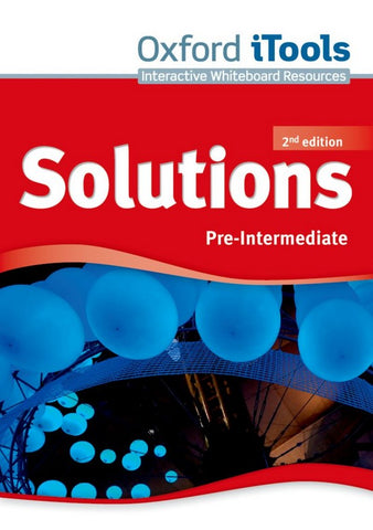 Solutions second edition - Pre-intermediate itools dvd-rom