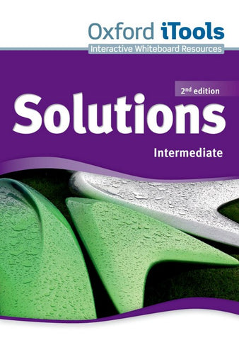 Solutions second edition - Intermediate itools dvd-rom