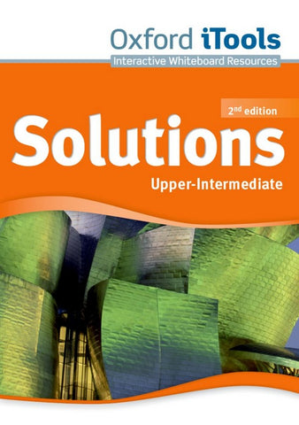 Solutions second edition - Upper-internediate itools dvd-rom