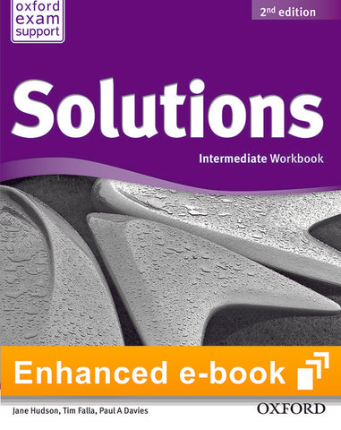 Solutions second edition - Intermediate (olb) workbook e-book access code