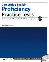Cambridge English: Proficiency (CPE) practice test+key+cd-rom+online resource