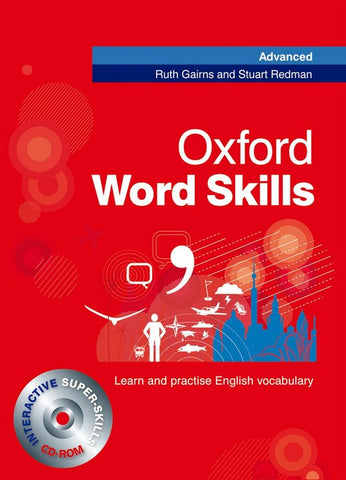 Oxford Word Skills - Advanced student's book + cd-rom pack