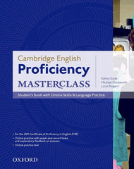 Cambridge English: Proficiency (CPE) Masterclass student's book+online skills pack