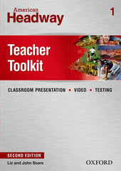 American Headway - second edition 1 teacher toolkit cd-rom