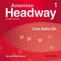 American Headway - second edition 1 class audio-cd's (3x)