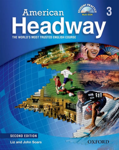American Headway - second edition 3 student's book + cd-rom pack