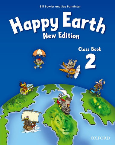 Happy Earth - new edition 2 class book