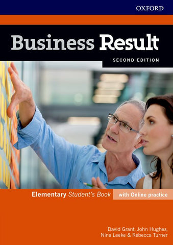 Business Result Second Edition - Elementary Student's book + online practice