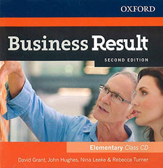 Business Result Second Edition - Elementary Class Audio CD